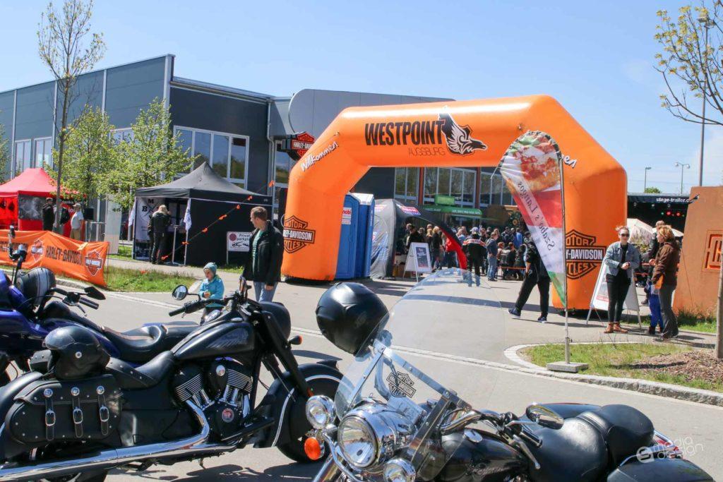 augsburg bike days bei harley davidson westpoint augsburg. Black Bedroom Furniture Sets. Home Design Ideas